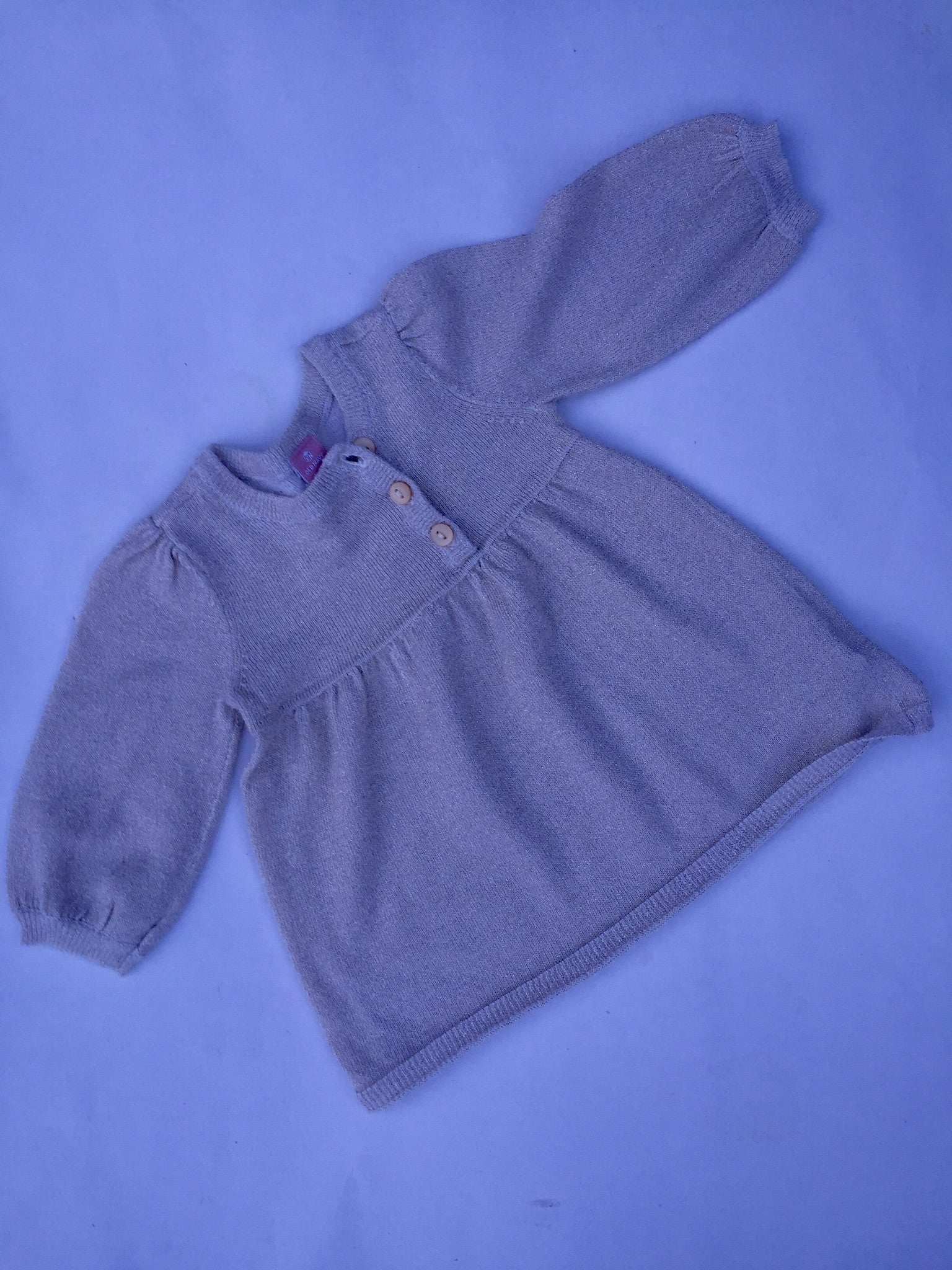 Old Navy Sparkly Sweater Dress | 3-6M
