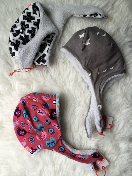 MeiKei Cozy Winter Pilot Hats | 6M-3T