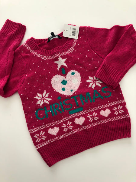 George Pink Holiday Sweater NWT | 6
