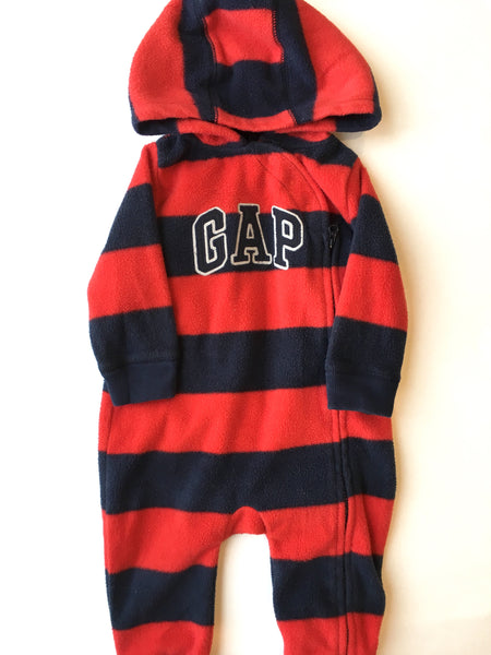 Baby Gap Fleece One-Piece | 6-12M