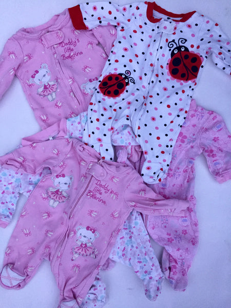 Assorted Zippered Onesies | NB