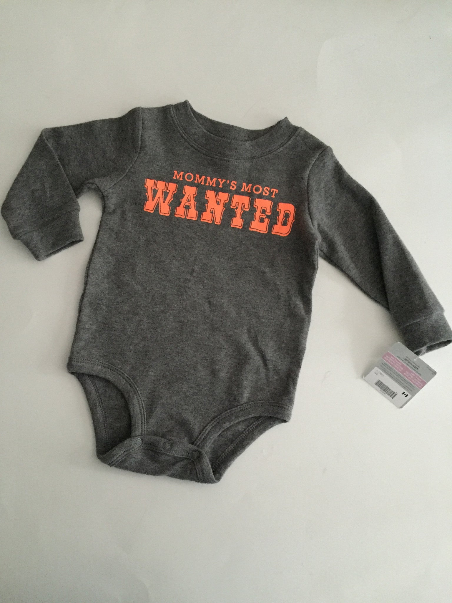 Mommy's Most Wanted Onesie NWT | 9M