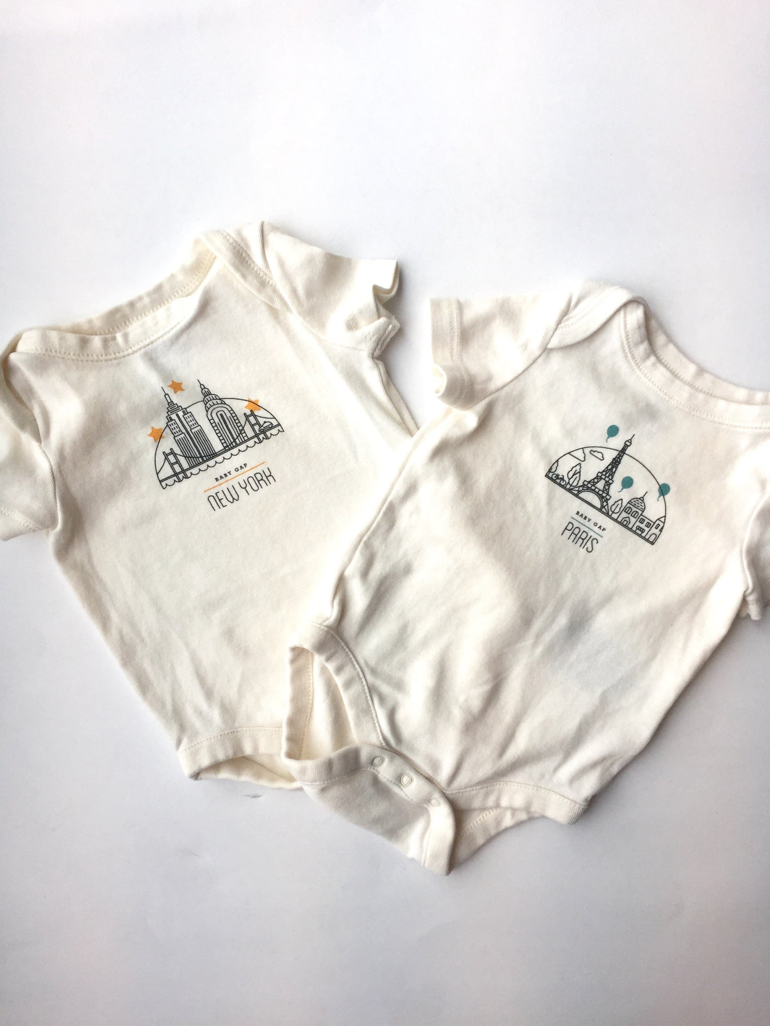019121ff07e4e Baby Gap Onesies | 0-3M – Little Saturday Market | Shop Preloved