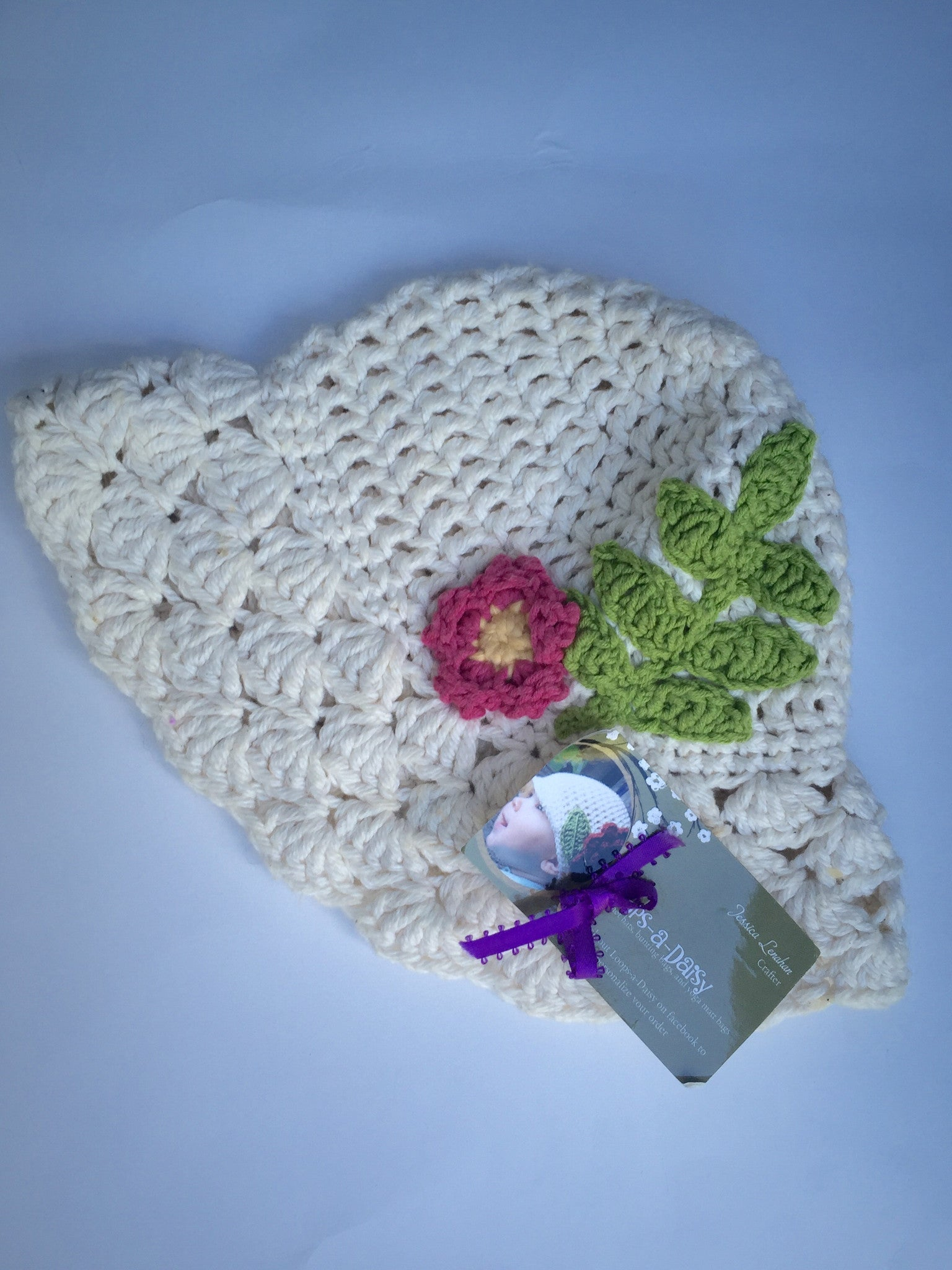 Handmade Hat | Girls | 0-6M