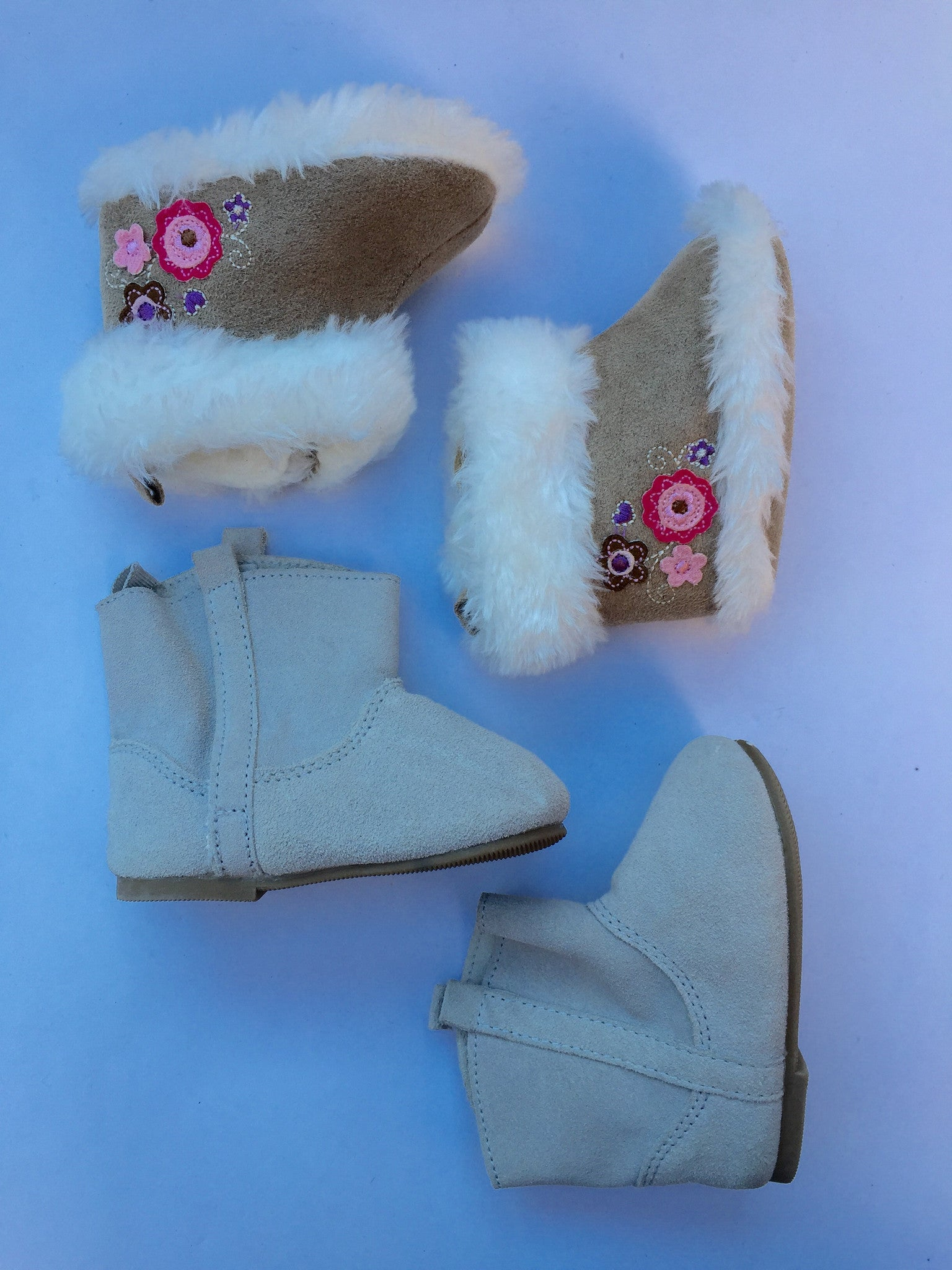 Baby Gap Boots + Fluffy Booties | 0-6M