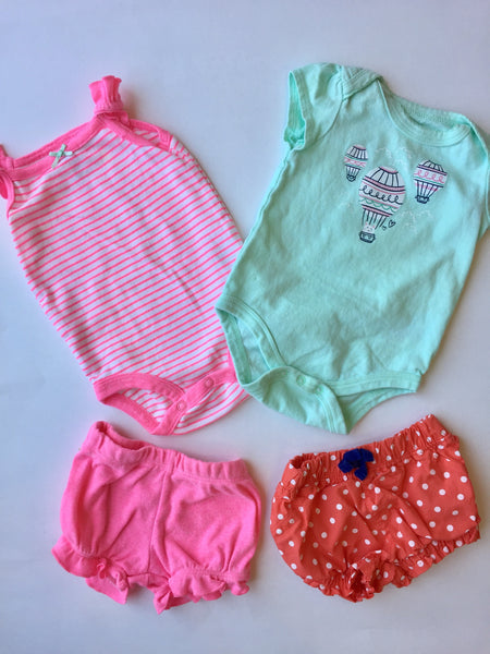 Assorted Onesies & Shorts | 3M