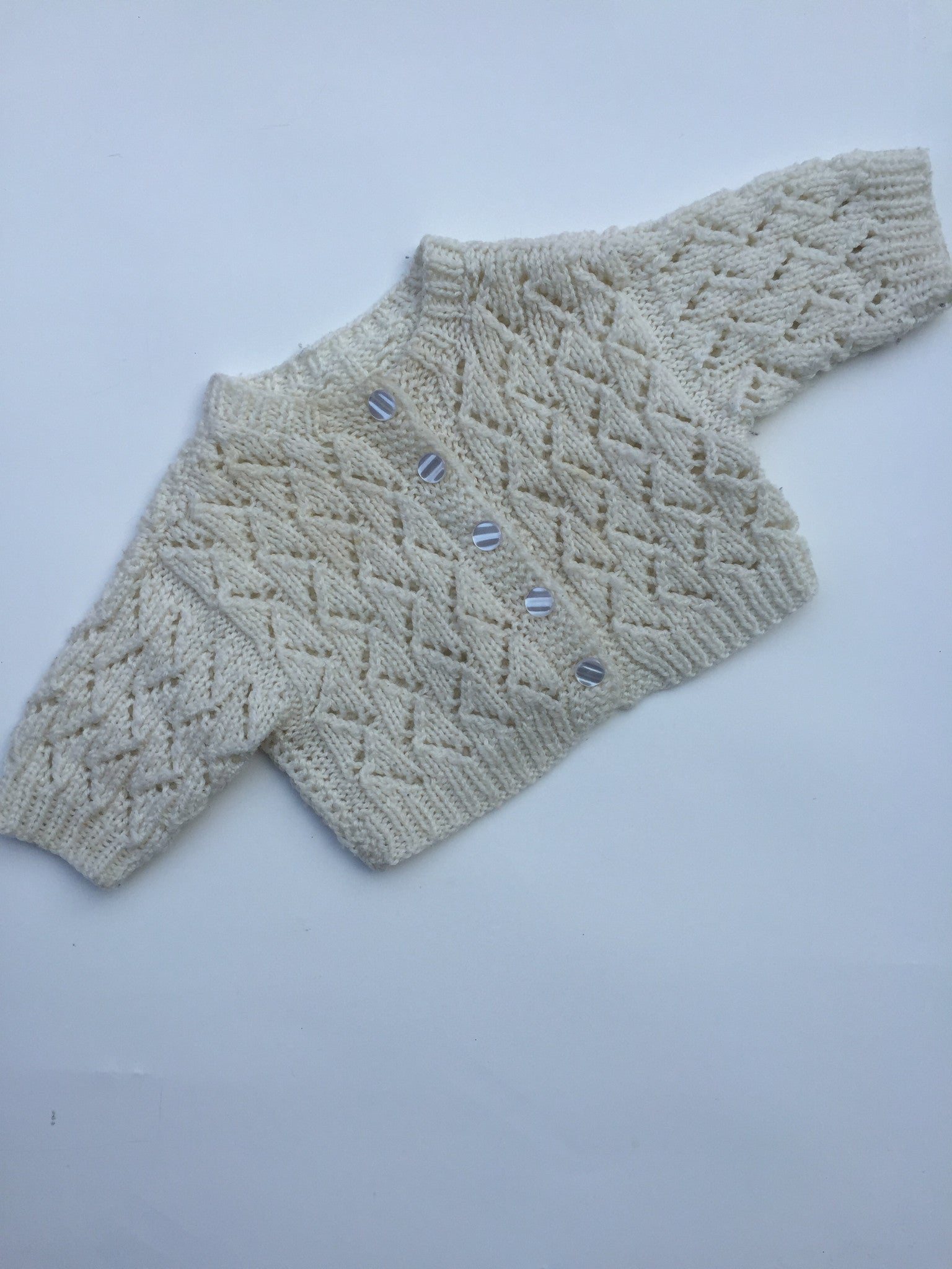 Knit Cropped Cardigan | 12-18M