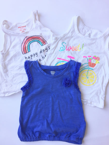 Assorted Tank Tops | 2T