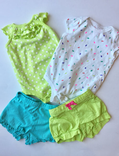 Assorted Onesies & Shorts | 3-6M