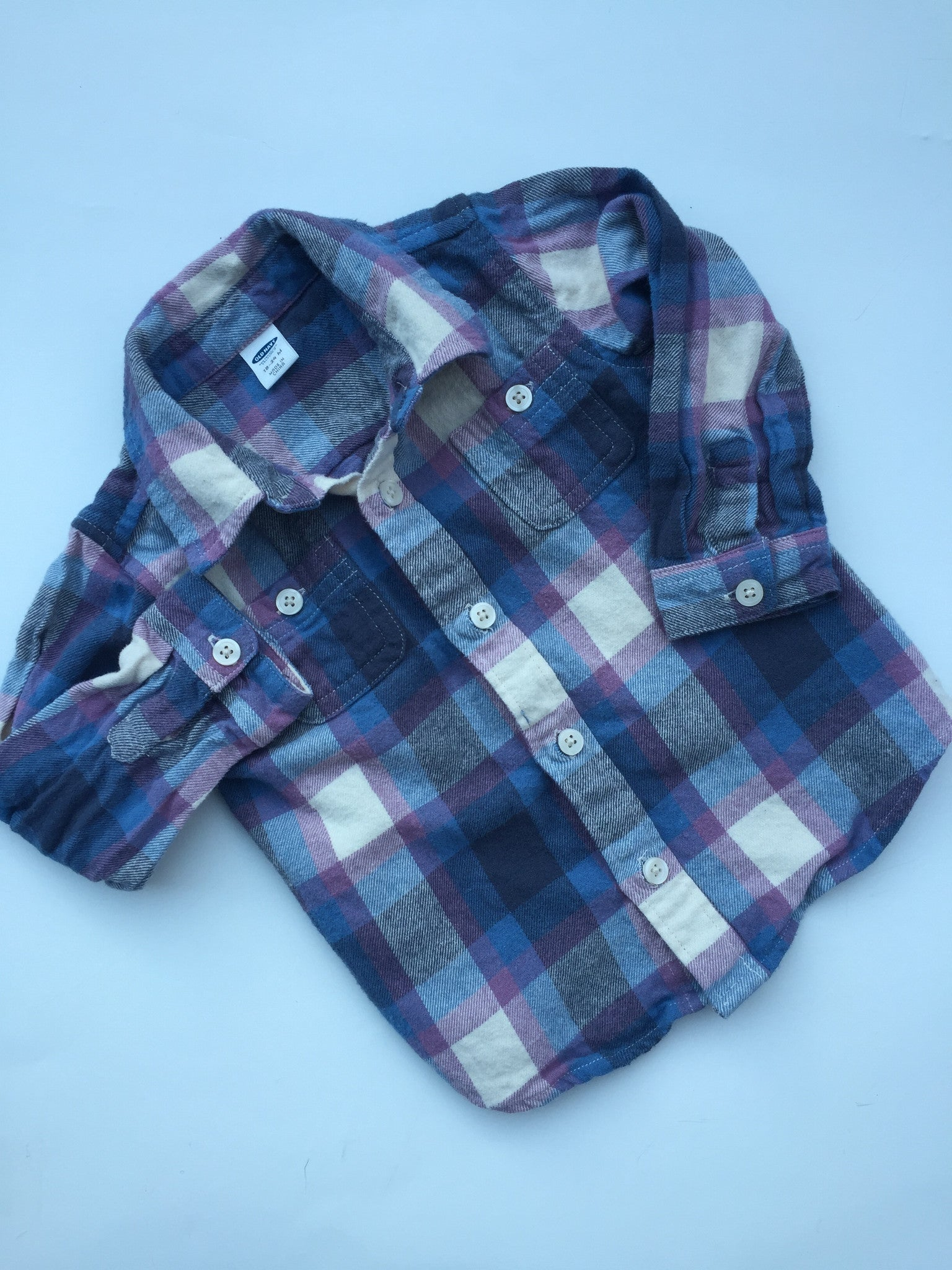 Joe Fresh Plaid Flannel Shirt | 18-24M