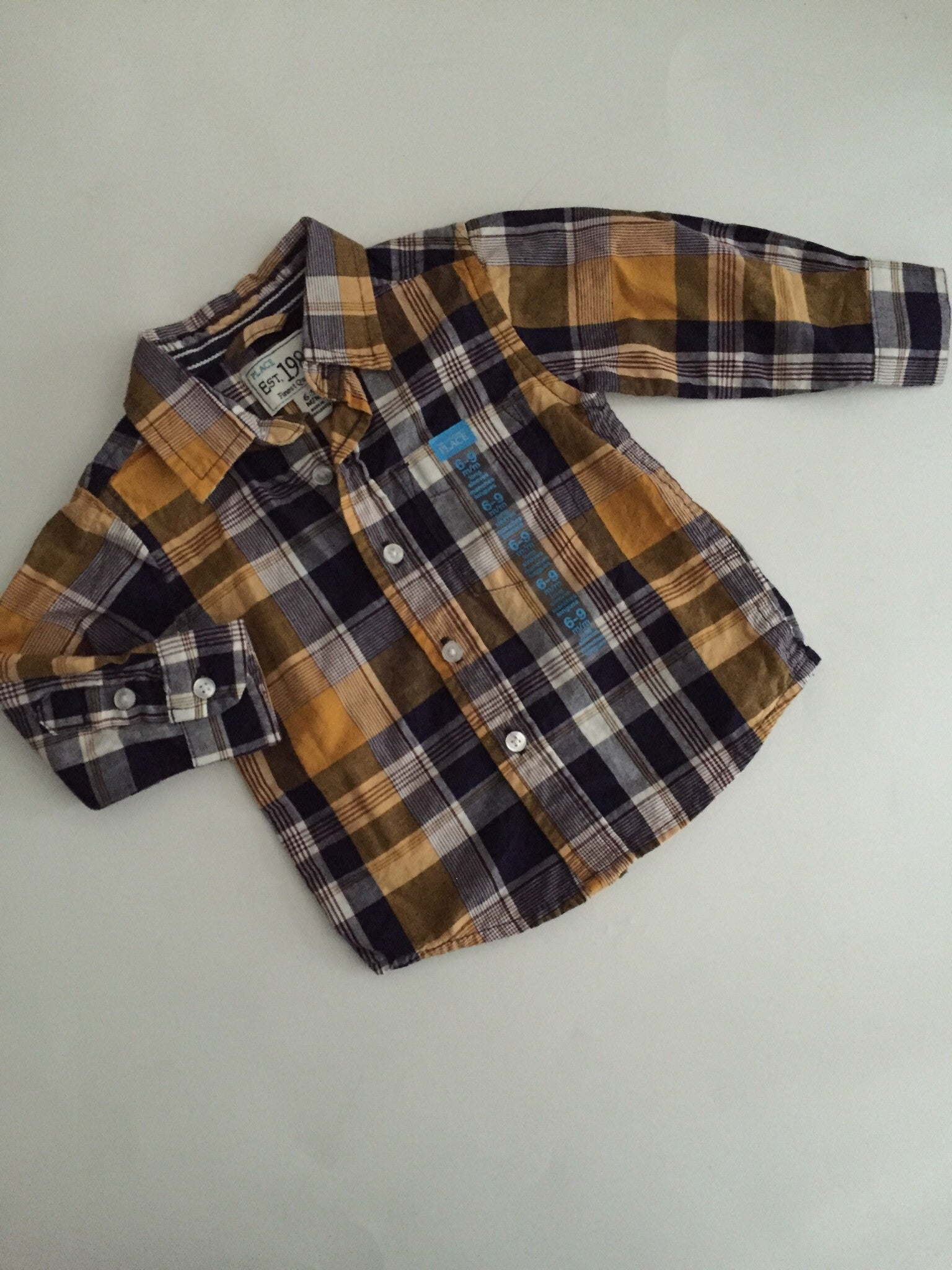 Children's Place Plaid Shirt | 6-9M