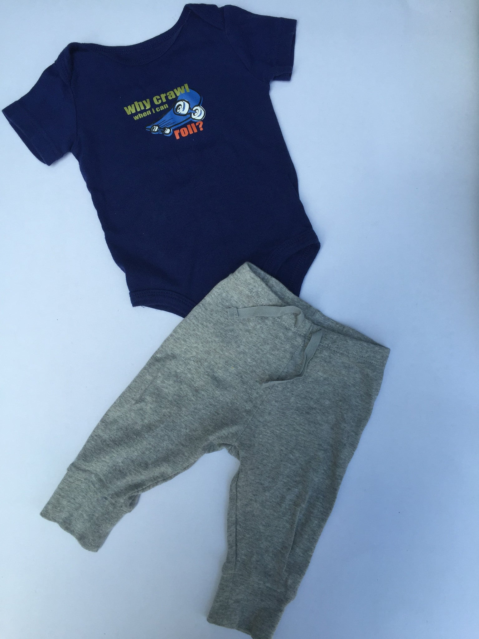 Baby Gap Pants & Onesie | 0-6M