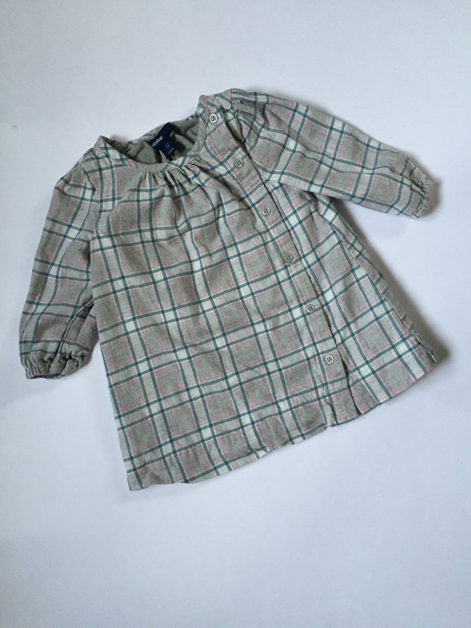 Baby Gap Plaid Frock | 3-6M