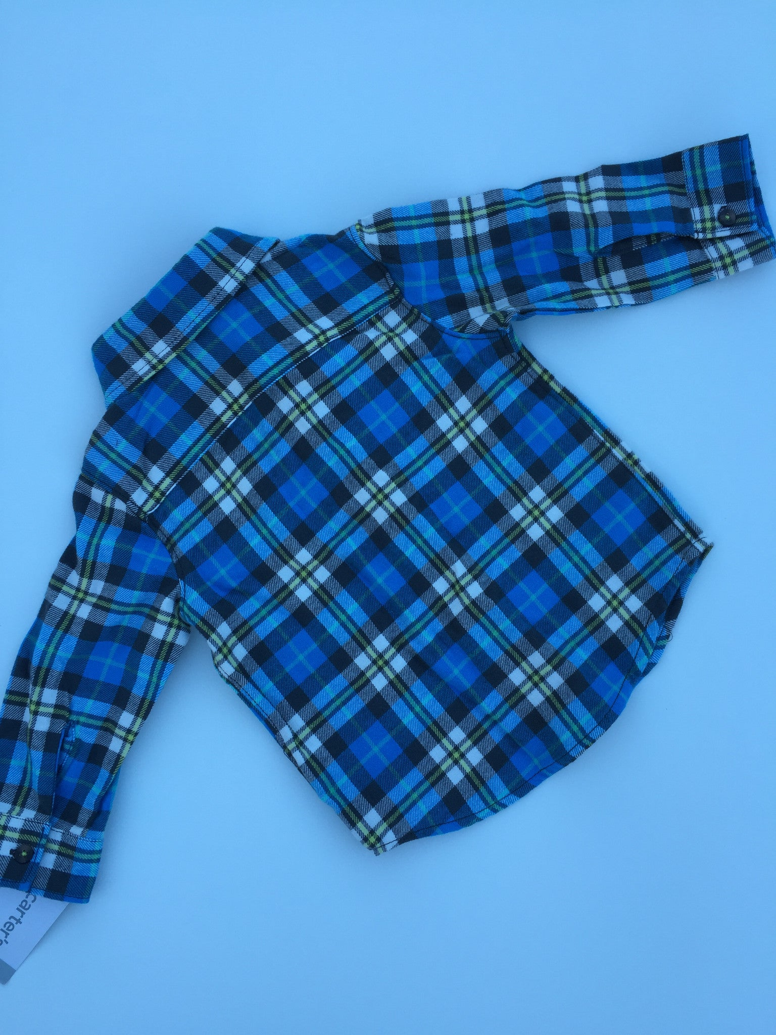 Carter's Flannel Plaid Shirt | 12M