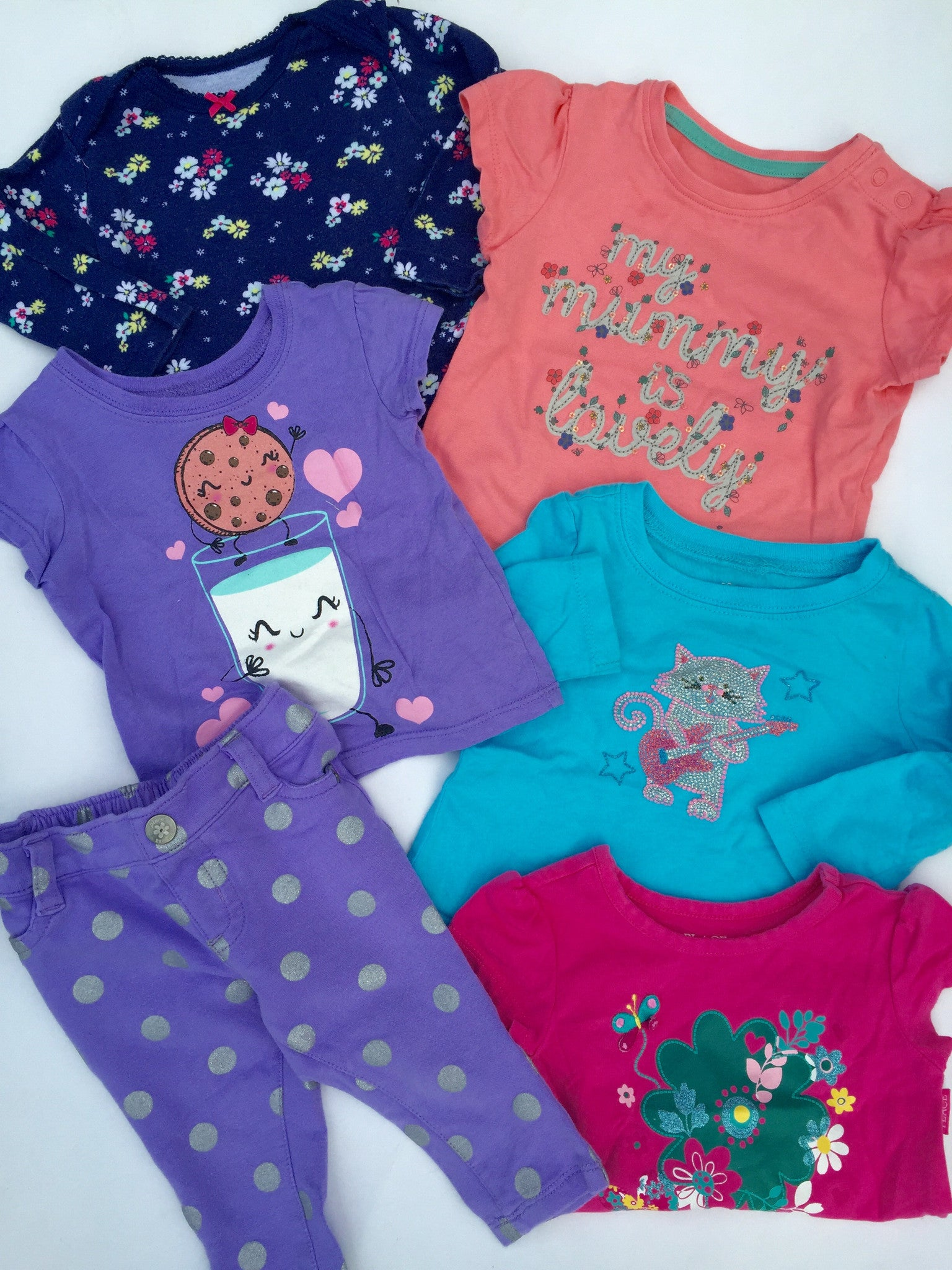 Assorted Girls Items | 6-12M