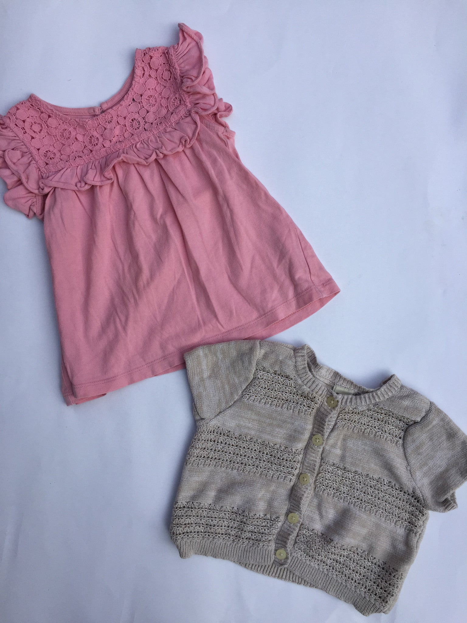 Baby Gap Shirt + Old Navy Sweater | 18-24M