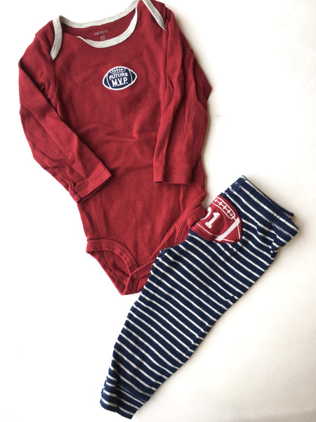 Carter's Onesie + Pants | 12M