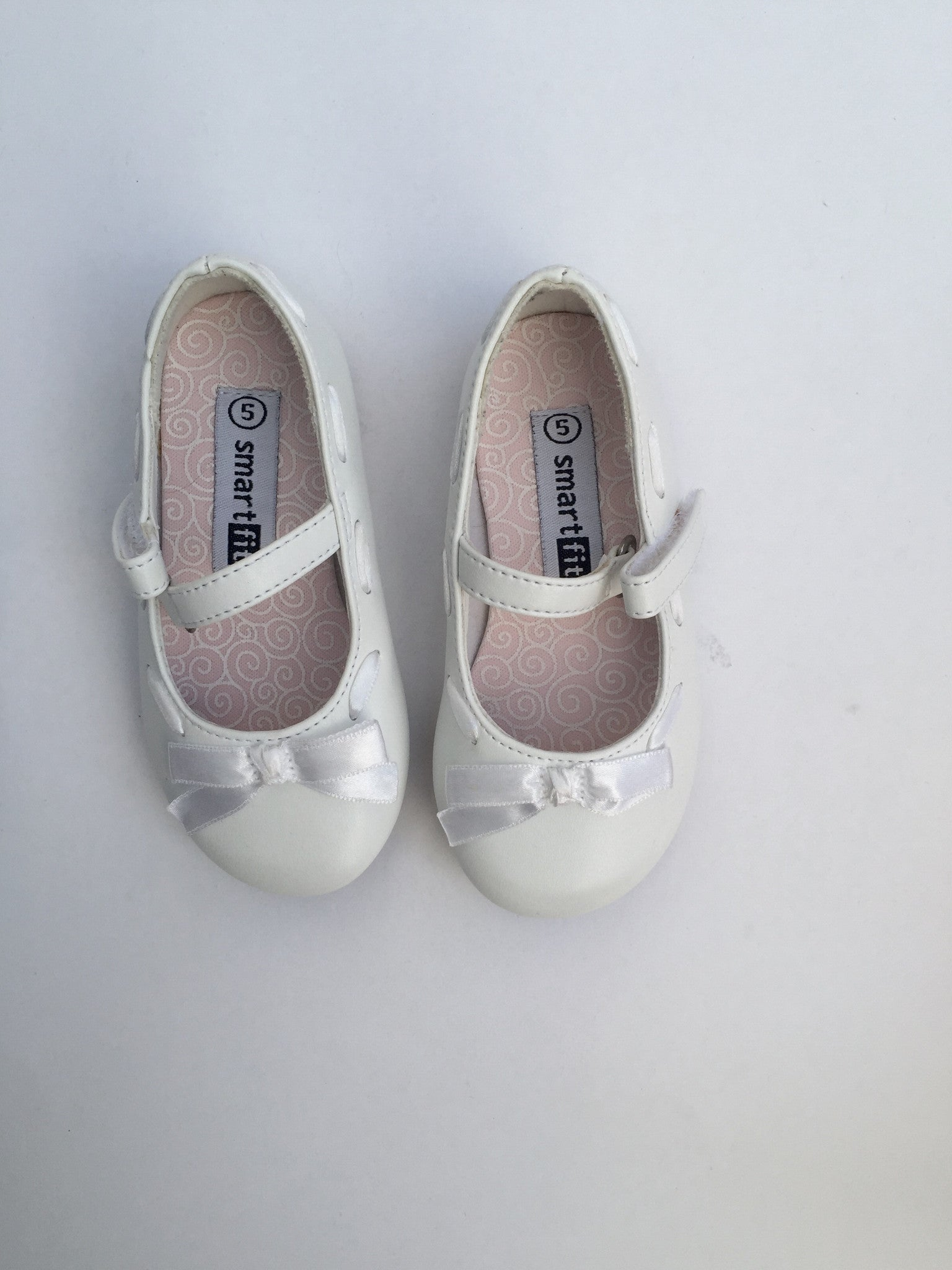 Smartfit White Shoes | Girls | Size 5