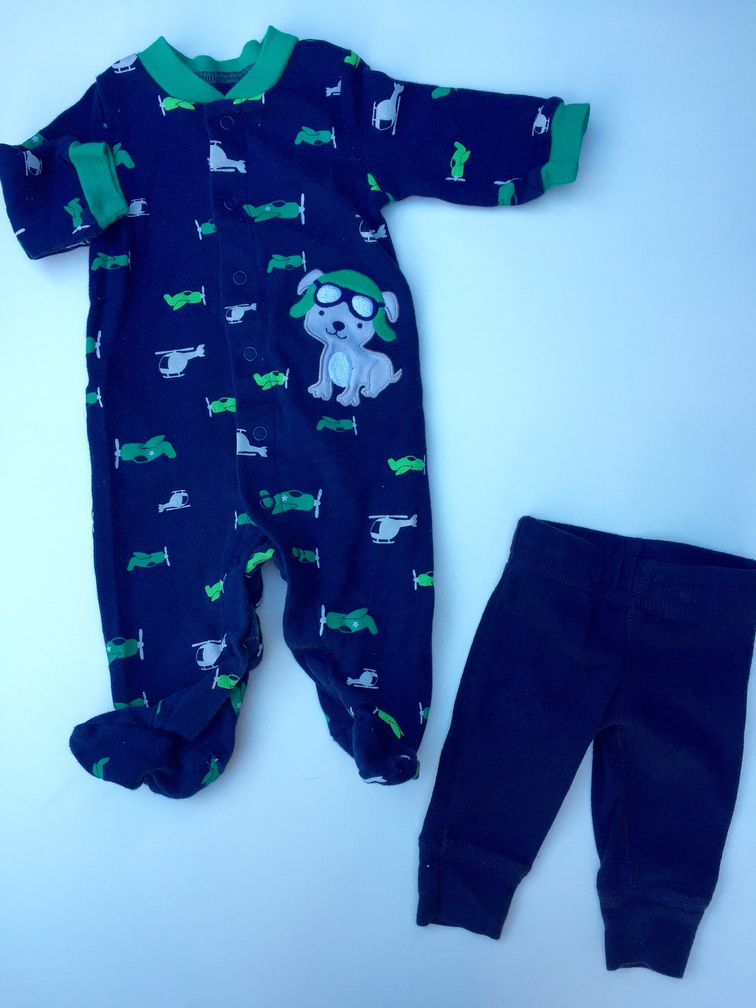Sleeper + Pants | 0-3M