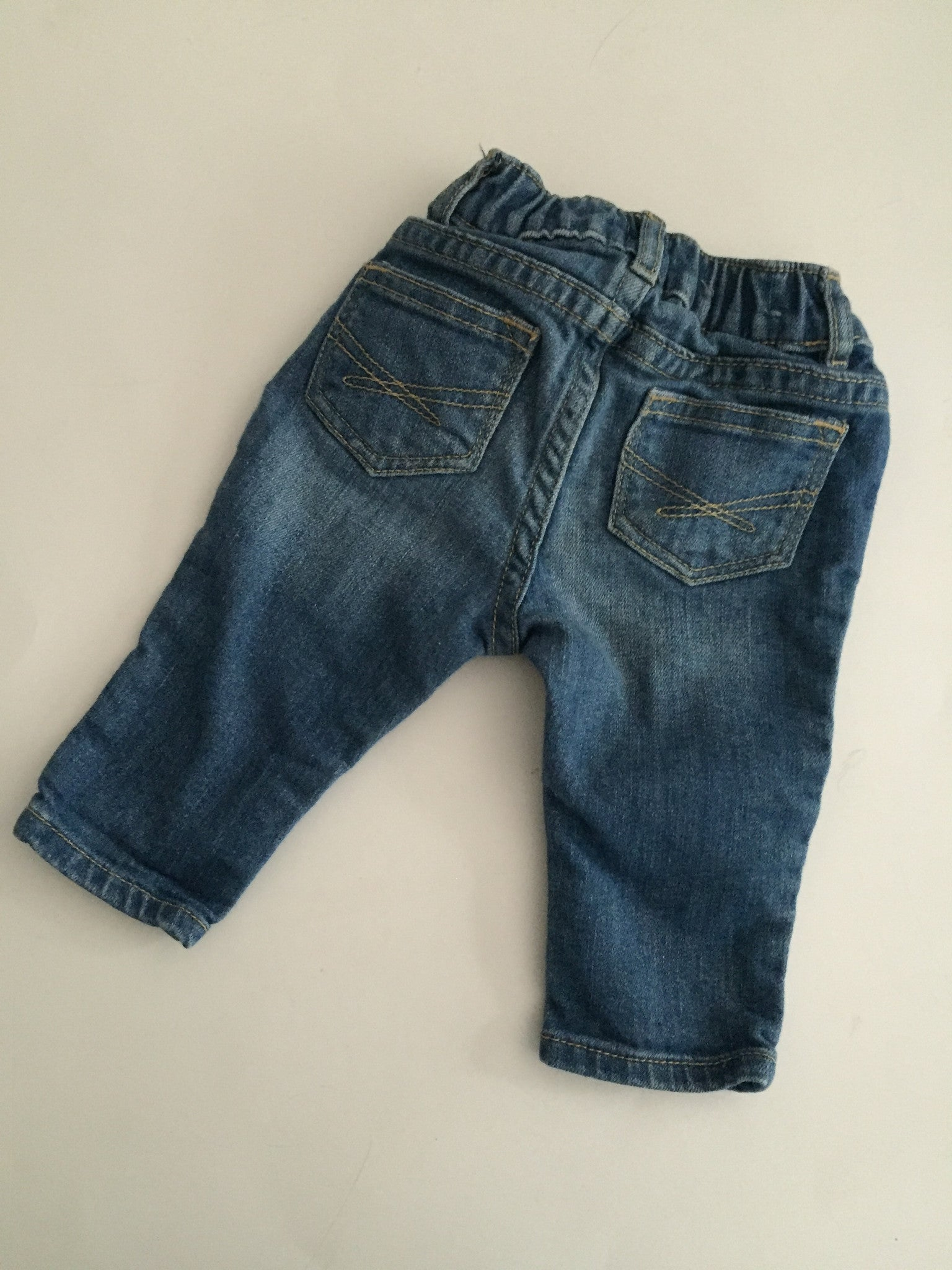 Baby Gap Patch Jeans | 6-12M