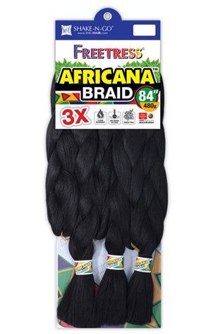 "3X Africana Braid 84"" (KAFBR)"