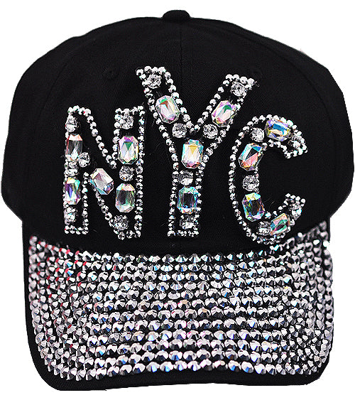 Jeweled Baseball Cap