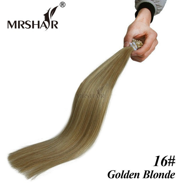 Pre Bonded Hair Extensions I Tip