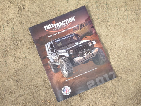 Full-Traction Jeep Suspension Catalog