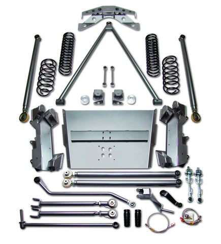 Jeep LJ Wrangler 4.0-in Rubicon Long Arm Suspension System Part FTS750209