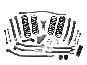 Jeep JK Wrangler 4.0 inch Ultimate SRS Suspension System 2-Door Part FTS7145 FREE SHIPPING