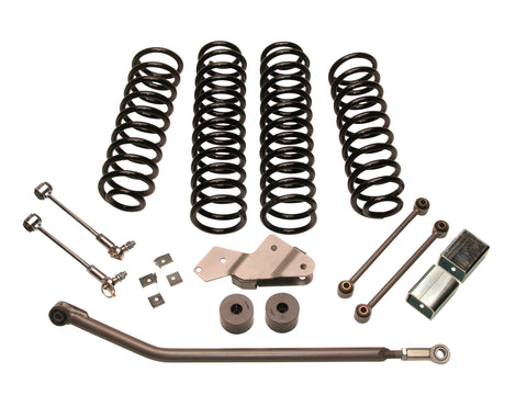 Jeep JK Wrangler 3.0-inch Economy-Plus Suspension System Part FTS7152