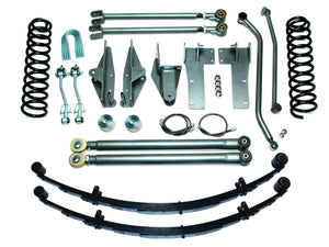 Jeep XJ 3.5 inch Long Arm Suspension System Part FTS720301 FREE SHIPPING
