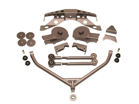Short Arm 'Stealth' Stretch kit for 97-02 Jeep TJ  Part # K750701SASU