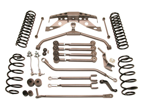 Jeep TJ Wrangler 4.0 Inch Ultimate Short Arm Suspension System Part FTS7507