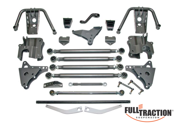 1999-2004 Ford F250/350 4WD  4.5-in 4-Link with King Coilovers** Part FTS7851