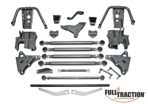1999-2004 Ford F250/F350 4WD 4-Link Builder Kit without shocks**  Part FTS7850
