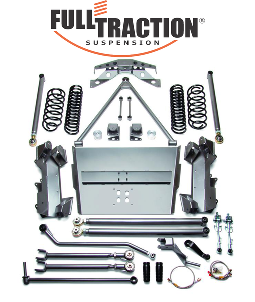 Jeep Rubicon Wrangler 6.0-inch Long Arm SRS Suspension System Part FTS750607