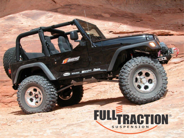 Jeep TJ - Upgrade to Long Arm Suspension** Part FTS750740