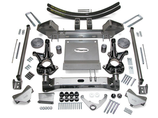 Chevy K1500 4WD 6.0 inch IFS Suspension System Lift Kit
