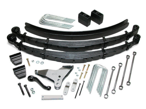Ford F250/F350 4wd 4.0-inch Leaf Spring Suspension System