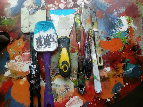 Why Use Palette Knives?