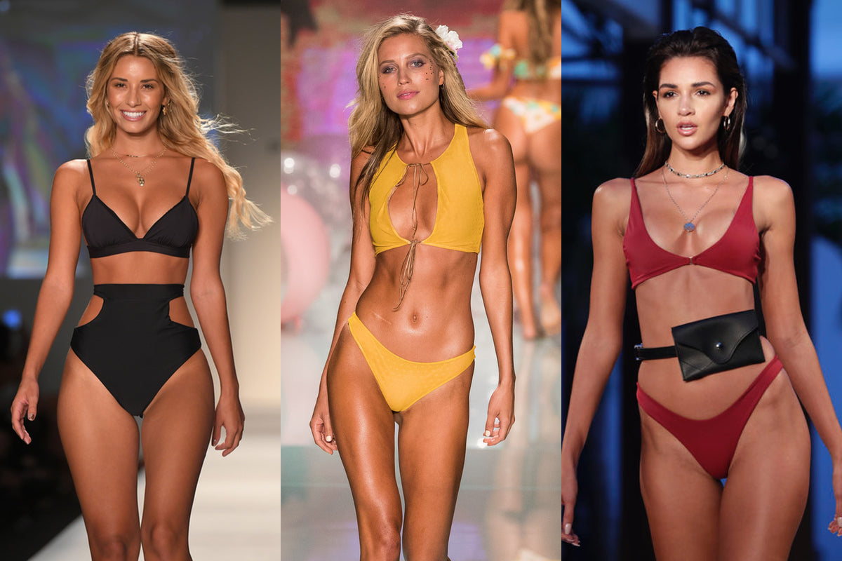 Catwalk selection Miami Swimweek
