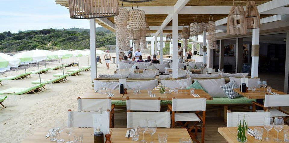 Ramatuelle's hip Indie beach club
