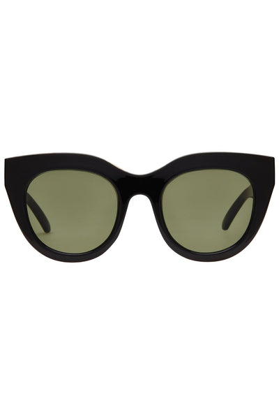 Le Specs - Air Heart Sunglasses - Black/Gold