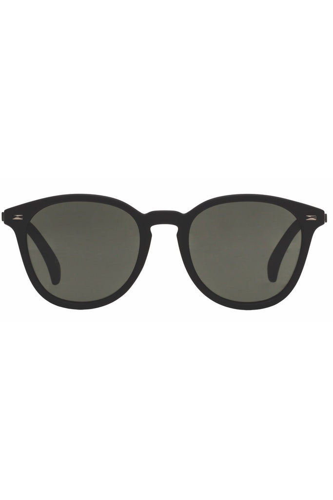 Le Specs - Bandwagon Sunglasses - Black Rubber