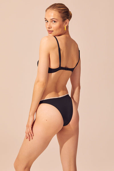 Solid & Striped - Daphne Bikini Set - Black