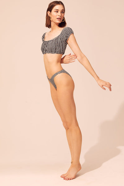 Solid & Striped - Elouise Bikini Set - Black Gingham