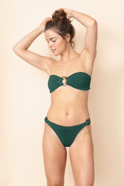 Hunza G - Gloria Bikini Set - Forest Green