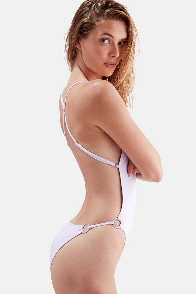 Solid & Striped - Lindsay One Piece - Lavander