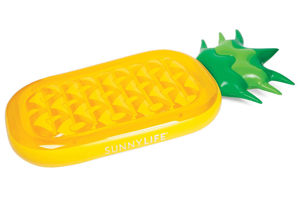 Sunny Life - Luxe Lie-On Pineapple Float